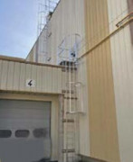Crinoline sur bâtiment industriel - En acier galvanisé, en aluminium ou en inox