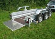 Remorque pour bagage lourd - Charge utile: 2700 kg