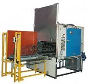 Machine de lavage par aspersion pour pièces lourdes - Lavage de pièces de série en machine cabine par aspersion