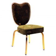 Chaise de réunion en tissu