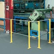 Barrière délimitation industrielle - Hauteur : 1100 mm, modulable