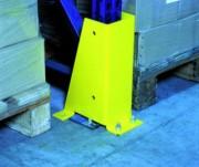 Sabot de protection en acier - Dimensions (L x l x H) mm : De 200 x 120 x 350 à 140 x 140 x 350