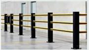 Barrière de sécurité flexible - Usage : intérieur ou extérieur
