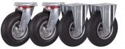 Roues pour chariots de manutention - Diamètre : 150, 200 ou 230 mm