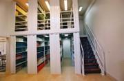 Plate forme Rayonnage bibliothèque