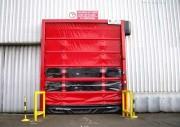 Porte à relevage rapide - Porte à relevage rapide ou porte souple
