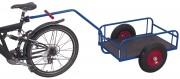 Remorque légère pour vélo - Charge maximale: 40 kg
