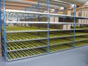Rayonnage industriel charge lourde - Bacs , cartons et palettes