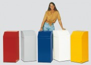 Poubelle conteneur modulable - Capacité : 45 L - Dimensions : 345 x 345 x 805 mm - Coloris au choix