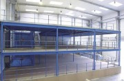 Plateforme stockage industrielle - Doublez votre surface exploitable