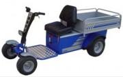 Véhicule électrique multifonctions à 4 roues - Capacité de traction: 1000 kg sur plat