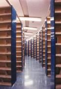 Rayonnage tôlé bibliothèque fixe