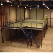 Plateforme mezzanine métallique - Gagner le plus de surface utilisable possible