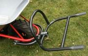Fourche brouette à verrouillage automatique - Charge max. 90 kg - Largeur x Longueur : 58 x 50 cm