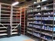 Rayonnage métallique pour cartons