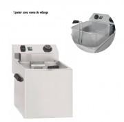 Cuiseur de pâtes électrique 3400 W - Dim ( L x P x H )  : 270 x  420 x  300 mm- Puissance : 3 400 W - Température : 30°C - 110°C