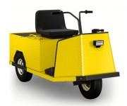 Véhicule utilitaire électrique pour transport de personnes et marchandise - Capacité de chargement : 227 kg, 1 passager