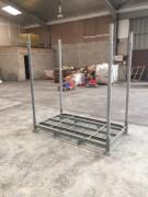 Rack de stockage mobile - À chandelles - En vente et en location - 1500 Kg par niveau