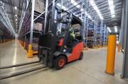 Borne de protection industrielle - Hauteurs standards : 400, 750 ou 1200 mm