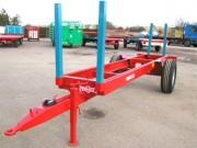 Remorques à bois tôle galvanisée - Capacité de charge (T) : 4.5