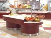 Buffet cuve inox réfrigérée - Froid statique - froid ventilé
