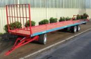 Plateaux fourragers trainés 6 roues - Trainés 6 roues