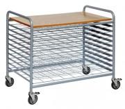 Chariot de séchage - Capacité de charge : 100 kg - Pour séchage de d'oeuvres d'art