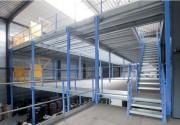 Plateforme mezzanine multi niveaux - Plateforme de stockage multi-niveaux stable