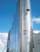 Echelle a crinoline 30m - Sur silo de stockage de céréales