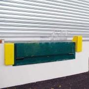 Butoir de quai fixe Hauteur 115 mm - Dimensions (L x l x h) : 550 x 220 x 115 mm