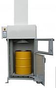 Compacteur à déchets contaminés - Ergonomique et efficace