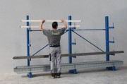 Stockage cantilever