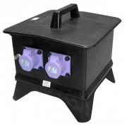 Transformateur portatif industriel - Coffrets en caoutchouc solide