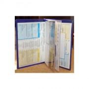 Porte-documents en plastique soudé - Pochette pour documents voiture en plastique soudé