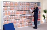 Rayonnage de bureau fixe - Idéal pour toutes les zones de stockage