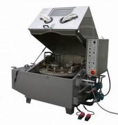 Dégraissage industriel à panier rotatif - Pour le nettoyage de roulements à rouleaux par aspersion
