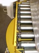 Convoyeur à rouleaux gravitaire - Rouleaux diamètre:  60