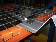 Platelage métallique avec découpe butée - Charge utile : 800 kg UR