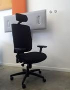 Siège ergonomique personnalisable pathologie Dynamic Chair 4200 - Maintien lombaire avec fluide, avec mousse