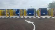Compacteur pour déchetteries à plat - Capacité de 30m³