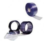 Lanière PVC transparente rouleaux
