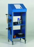 Pupitre d'atelier mobile 490 x 445 mm