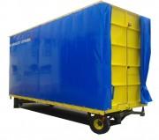 Remorque plateau à bâche haute - Capacité : de 500 kg à 50 tonnes