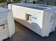 Compacteur solaire autonome - Équipé de 10 m2 de panneaux solaires