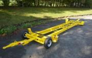 Châssis squelette pour remorque industrielle 4 tonnes - Dimensions : 4860 x 1634 mm