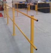 Barrière de délimitation industrielle acier - Hauteur de 1100 millimètres