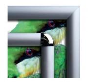 Cadre clic clac en aluminium - Plusieurs formats disponibles - Clic Clac - Vertical ou Horizontal