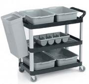 Chariot de cuisine 120 Kg - Capacité : 120 Kg