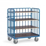 Chariot 4 plateaux - Charge (kg) : 400 - 500