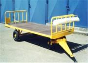 Remorque à avant-train pivotant charge 2 tonnes - Remorque bagage à avant-train pivotant, charge maxi : 2T